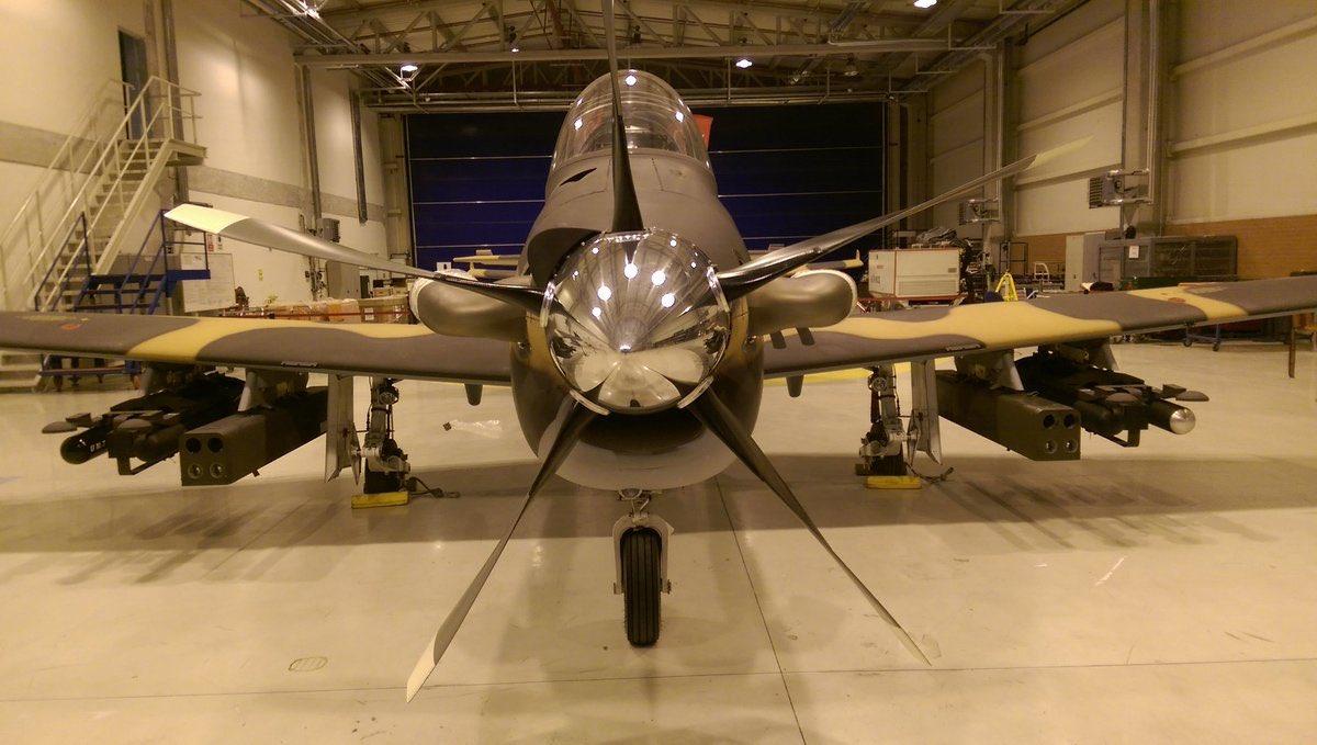 Treinador e aeronave de ataque leve turca Hurkus-C completou com sucesso testes de vôo e de tiro