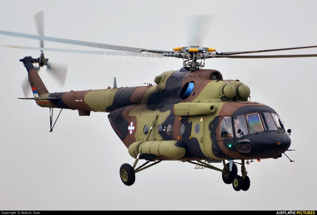 Rússia irá entregar helicópteros e radares aéreos embarcados para a Sérvia.