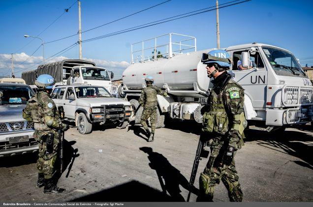 Militares brasileiros ajudam na revisão do Manual do Batalhão de Infantaria da ONU