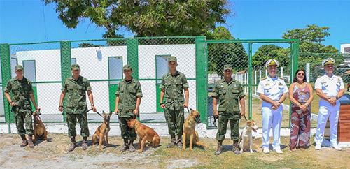 ADSUMUS: Grupamento de Fuzileiros Navais de Ladário (GptFNLa) inaugura canil
