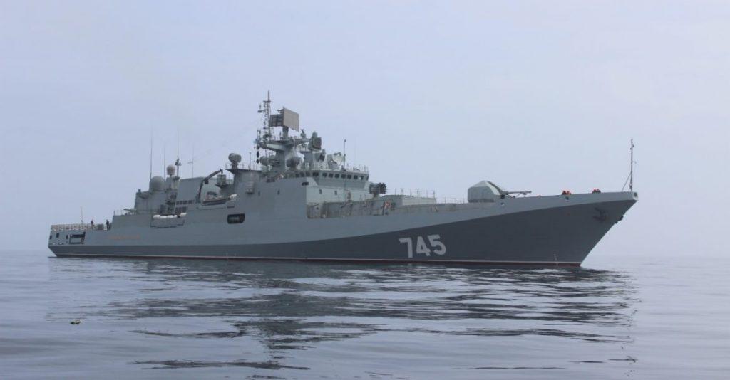 Índia assina acordo com à Russia para aquisição de  fragatas classe Admiral Grigorovich