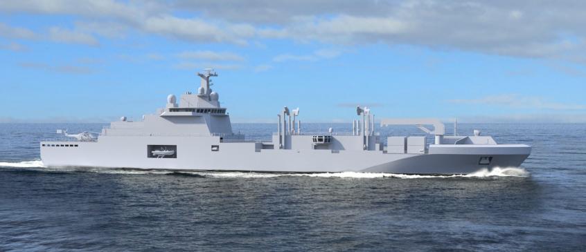 Marinha francesa adquiri 4 navios-tanque de reabastecimento