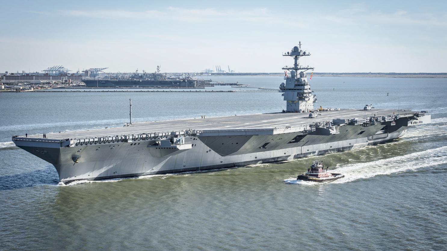 A Marinha dos EUA concedeu um contrato de US $ 15 bilhões à Huntington Ingalls Industries - Newport News Shipbuilding (HII - NNS) para a construção de mais dois porta-aviões, o CVN 80 e o CVN 81