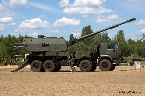 Novas informações sobre o sistema de artilharia autopropulsada Koalitsiya-SV 152-mm