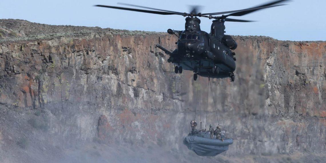 Boeing recebe contrato de US $ 39 milhões para 4 helicópteros MH-47G