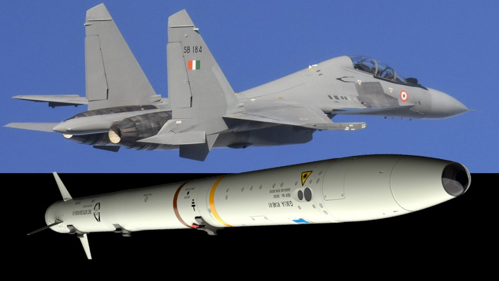 Força Aérea Indiana inicia integração do míssil MBDA ASRAAM no Sukhoi Su-30MKI.