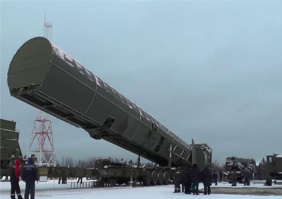 Desenvolvimento do ICBM Sarmat prossegue como esperado