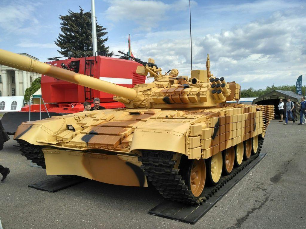 Cazaquistão mostra interesse no pacote de modernização bielo-russo para o T-72