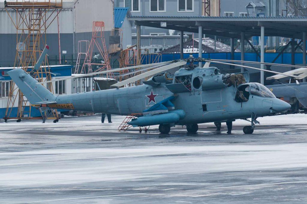 Rússia está desenvolvendo um novo helicóptero de combate para a Força Aerotransportada