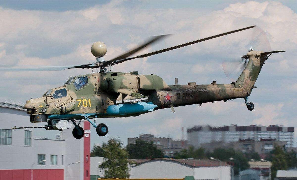 Mísseis anti carro de nova geração para os Helicópteros de ataque Mi-28NM
