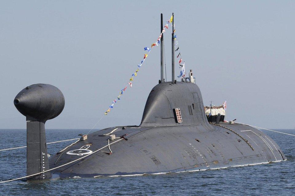 Índia e Rússia assinam acordo de US $ 3 bilhões para arrendamento de terceiro submarino nuclear