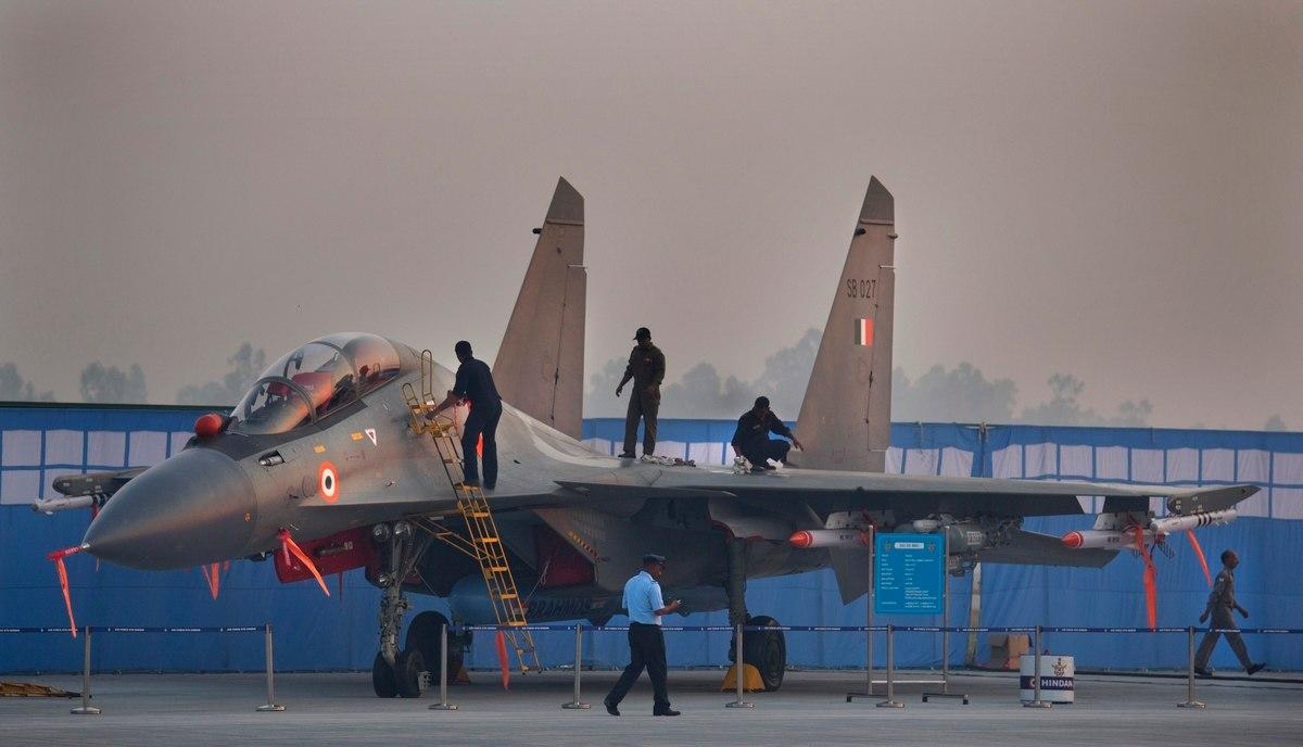 Imprensa indiana explica a não utilização do SU-30MKI no conflito entre Paquistão e índia