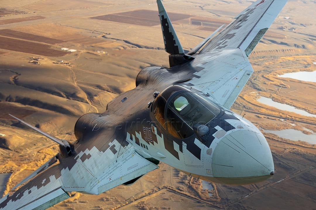 Distrito Militar Sul da Rússia receberá o primeiro lote de Su-57 em 2020