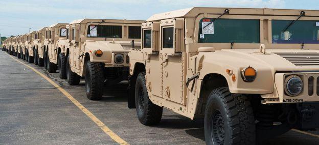 AM General recebe encomenda para a produção de 739 unidades dos M1152A1 Humvee para os EUA