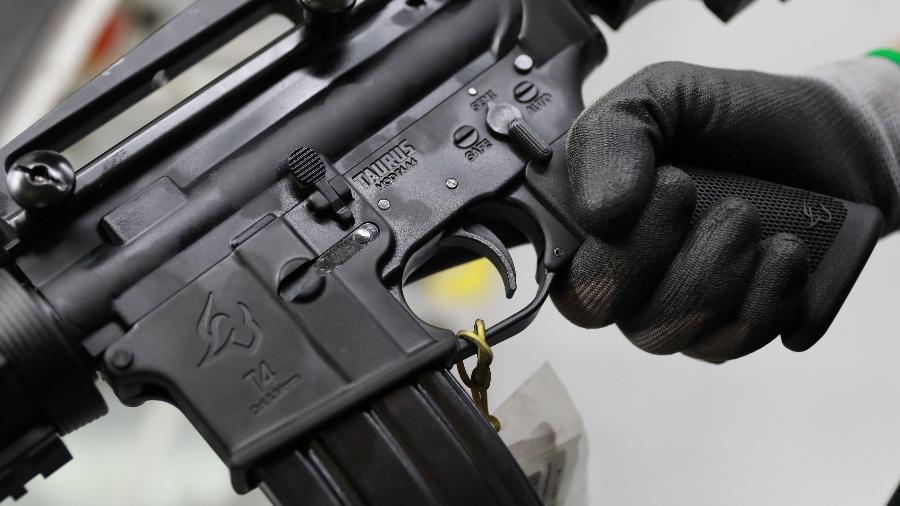 Polícia Militar do Distrito Federal recolhe 401 submetralhadoras por falta de segurança; Taurus contesta