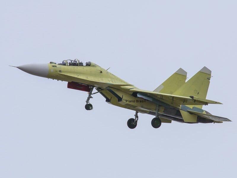 Você viu primeiro aqui: Voa o primeiro Sukhoi Su-30SME da Força Aérea de Myanmar