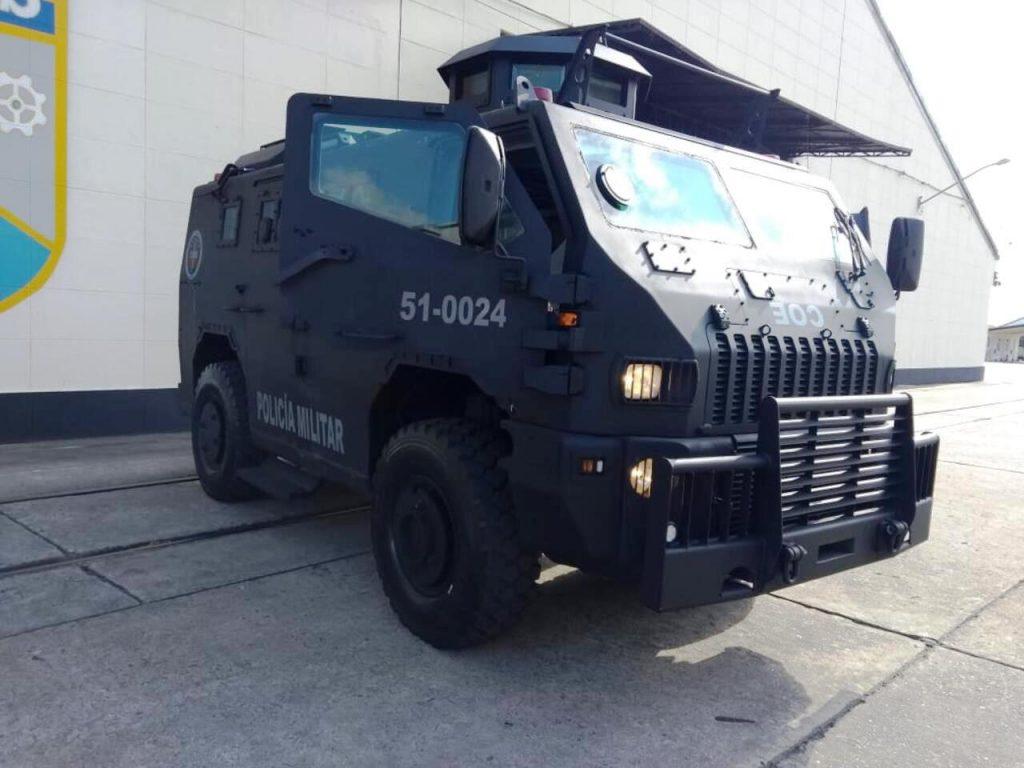 Segurança pública: Batalhão Central de Manutenção e Suprimento entrega Viatura Blindada Maverick manutenida à Polícia Militar do Estado do Rio de Janeiro