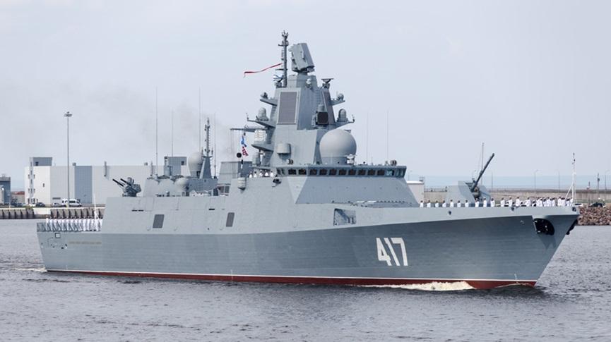"Estaleiro Sevmash dá início a construção de duas fragatas Project 22350 "" Almirante Gorshkov"""