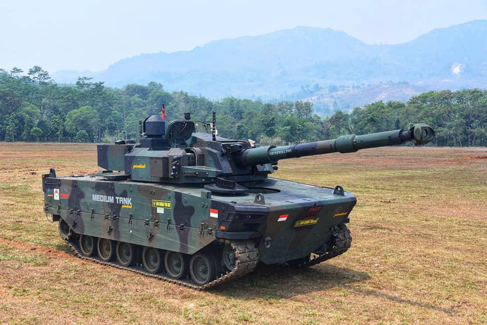 Indonésia encomenda primeiro lote do Carro de Combate leve  Kaplan MT