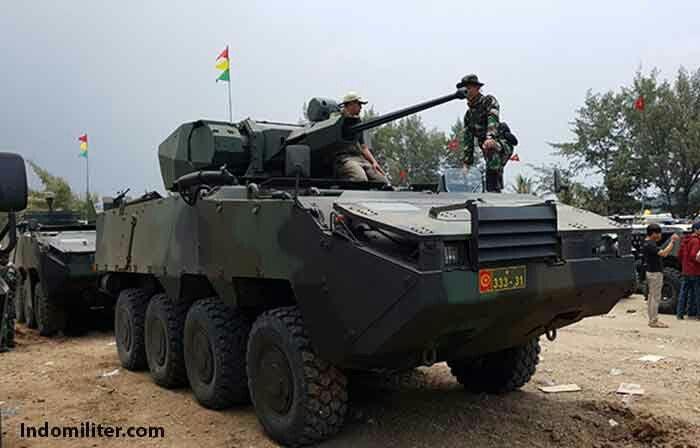 ARES Aeroespacial e Defesa fornecerá sistemas de armas dos veículos Pandur da Indonésia
