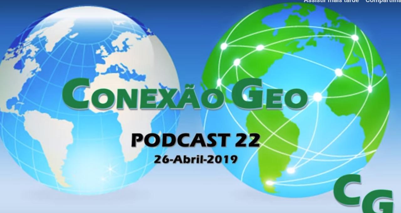 Nova Coluna Conexão Geo - com CMG Leonardo Mattos