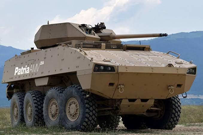 Finlandesa Patria oferece sua família de veículos AMV para o Chile