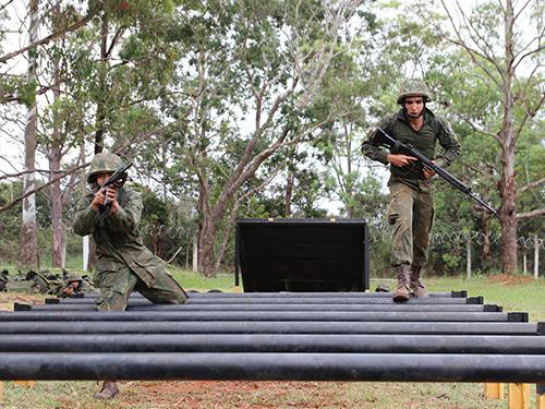 """ADSUMUS: Grupamento de Fuzileiros Navais de Brasília (GptFNB) promove """"Adestramento de Equipes 2019"""""""