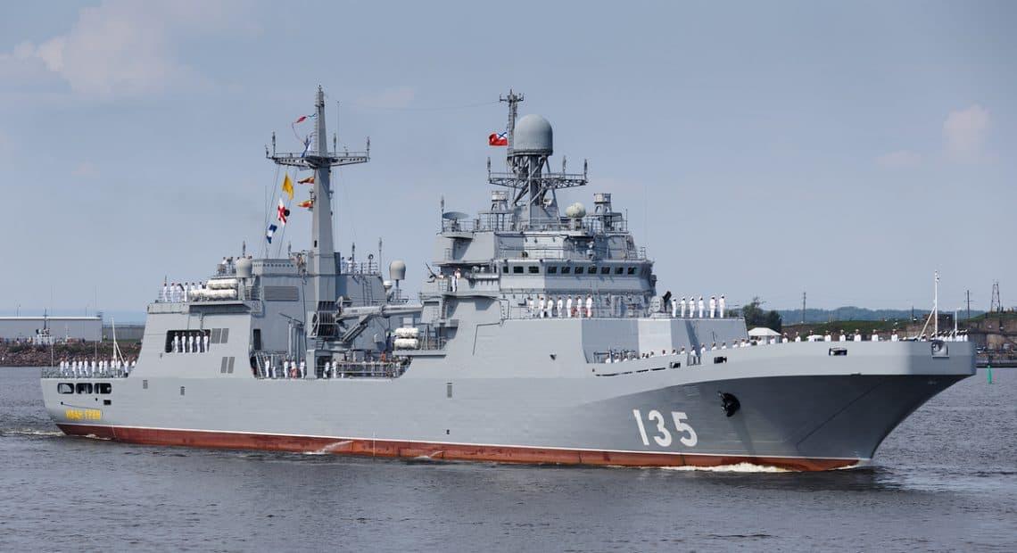 Os estaleiros de Kaliningad, na Unidade de Construção Naval do Báltico iniciaram a construção de dois novos navios de desembarque Project 11711