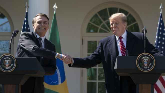 """Plano Brasil/Relações Brasil X EUA/Análise: """"Presidente dos EUA, Donald Trump,notifica Congresso Americano sobre intenção de indicar Brasil como """"Aliado Preferencial extra-Otan"""", e garante que apoiará a entrada do País na OCDE"""""""