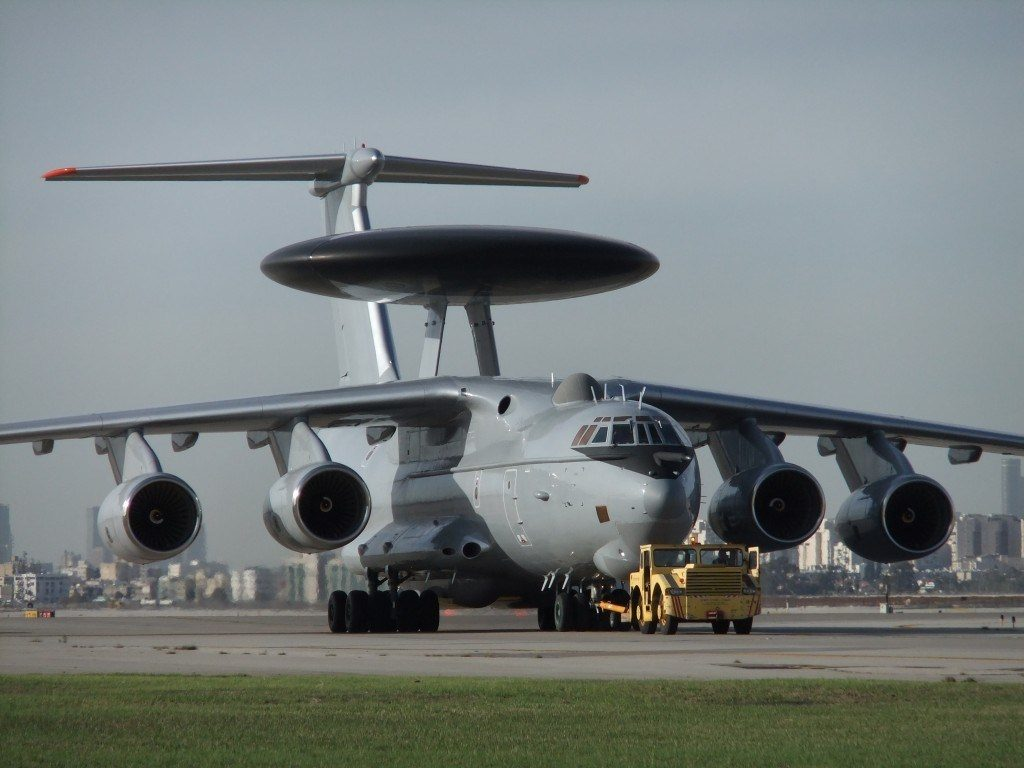 Índia encomenda mais duas aeronaves AWACS de Israel por US $ 2 bilhões