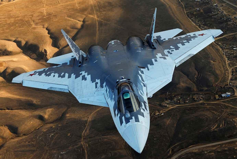 Putin afirma que 76 jatos Su-57 serão comprados antes de 2028