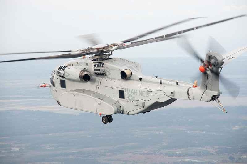 Marines encomendam 12 CH-53K num contrato avaliado em US $ 1,3 bilhão
