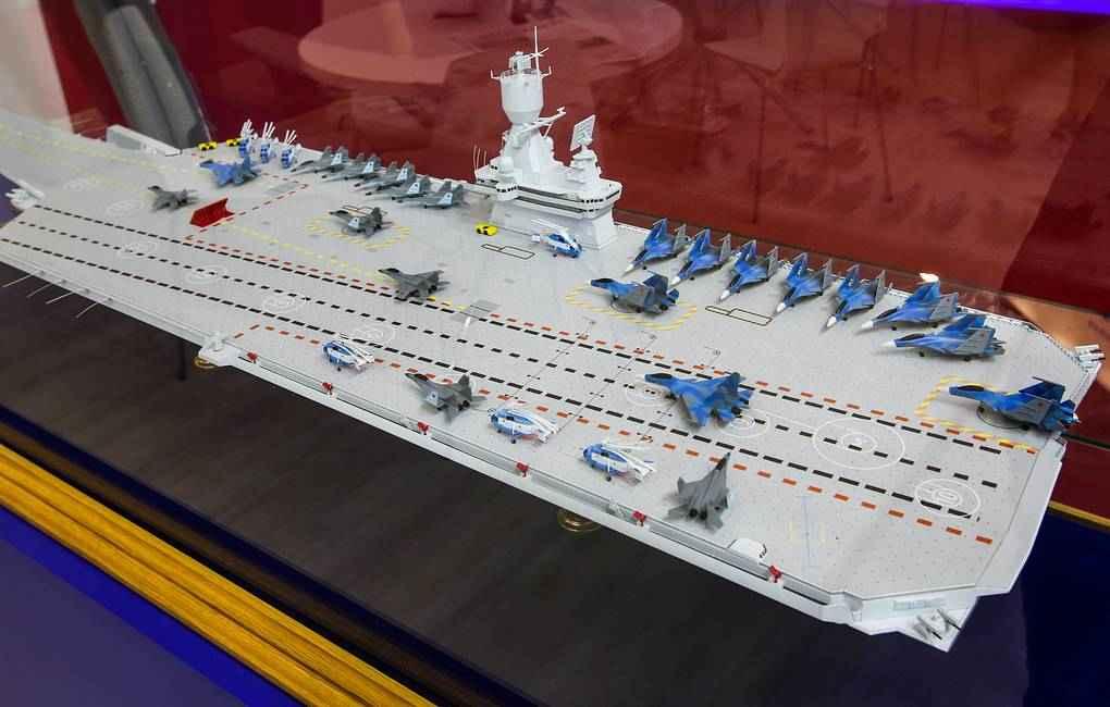 Kirlov apresentará no Army 2019 os projetos alternativos para o futuro Porta Aviões da Marinha Russa