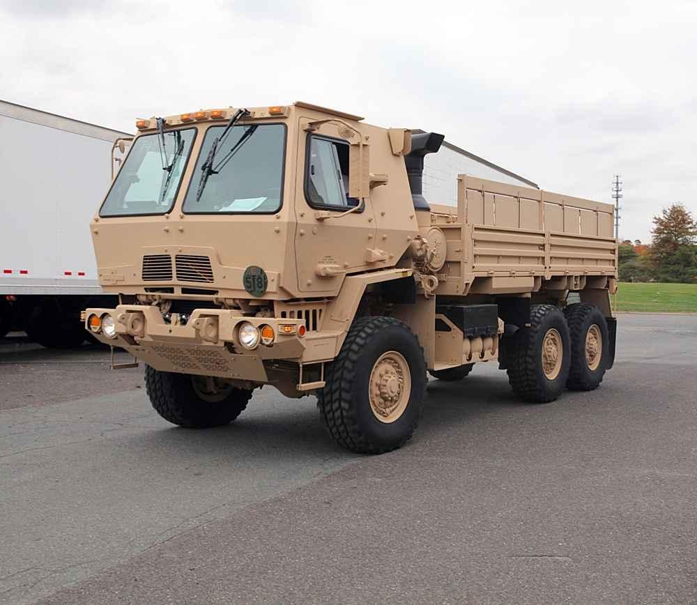 Exército Argentino  perto de incorporar caminhões da família Oshkosh FMTV