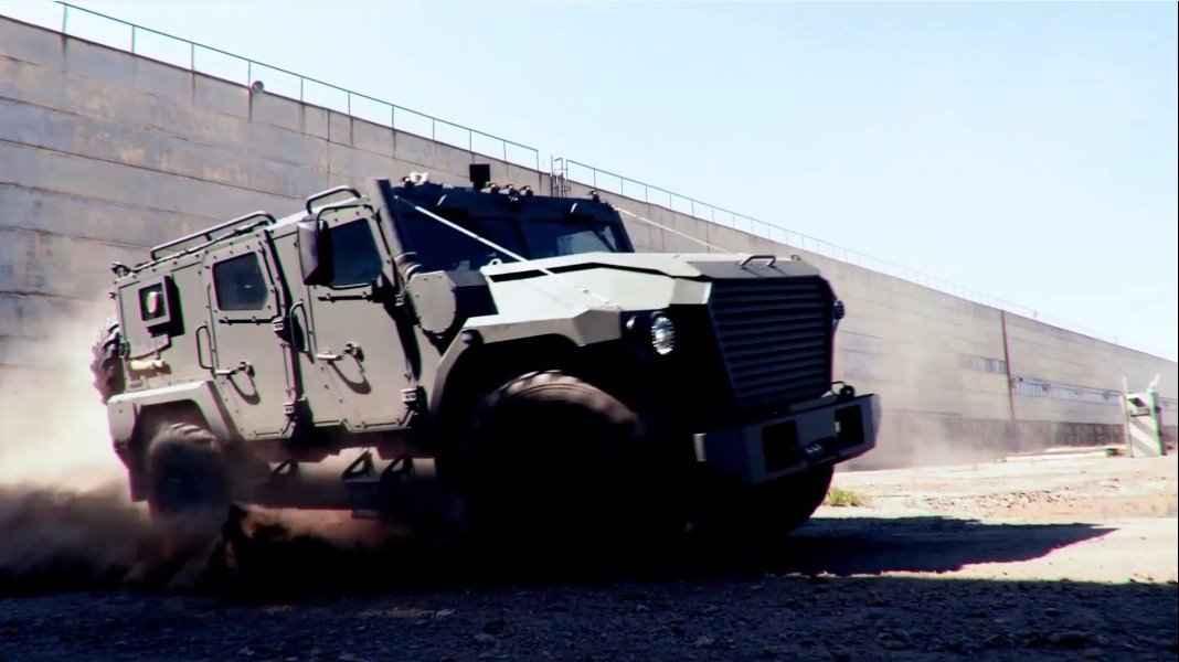 Vídeo-Primeiras Imagens do Veículo Tigr-2