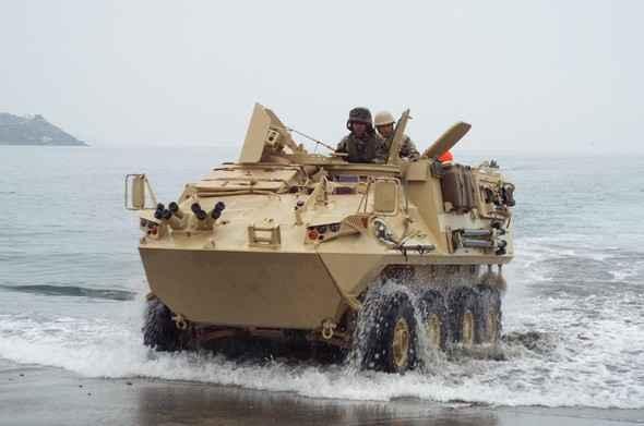 General Dynamics oferece seu veículo blindado 8×8 LAV-II a Colômbia