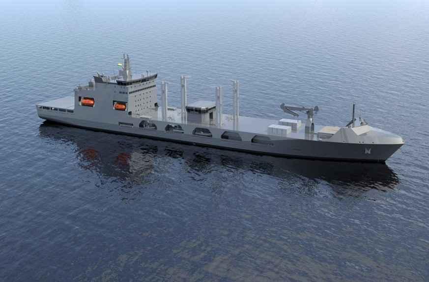 TAIS da Turquia escolhida para projeto de navios de apoio da frota da Marinha indiana