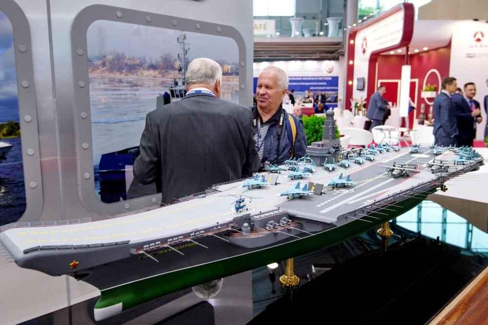 Apresentado em São Petersburgo mais um conceito do futuro  porta-aviões russo