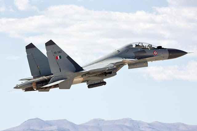 Índia encomendará mais 18 novos caças SU-30MKI