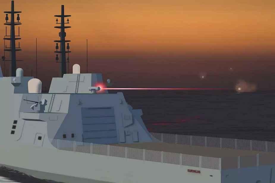 O Ministério da Defesa do Reino Unido está desenvolvendo armas de laser e radiofrequência