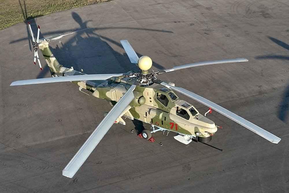 Mi-28NM irá aumentar a velocidade devido a novas lâminas