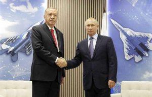 Turquia deseja expandir as relações no setor de defesa com a rússia