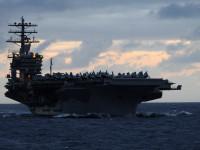 Coreia do Sul e EUA iniciam manobras com porta-aviões nuclear