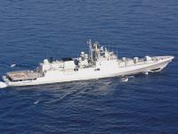 """O Estaleiro russo """"Yantar"""" bateu a quilha da fragata""""Almirante Butakov"""""""
