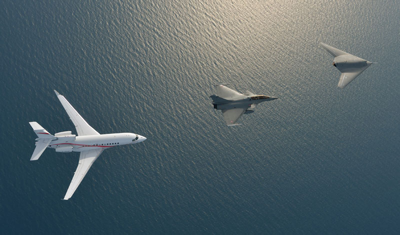 Dassault Aviation – Neuron, Rafale  & Falcon 7X