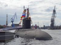 Vídeo: Lançamento do Terceiro submarino da classe Varshavyanka para a Frota russa do Mar Negro