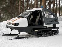 Exército russo será equipado com motoneve única