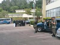 Infantaria da Aeronáutica  Realiza segurança da comitiva da Nigéria