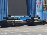 T-14 ARMATA  apresenta problemas durante treinamento para o dia da Vitória.