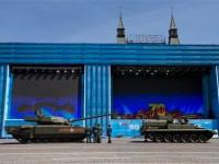 Video: Após pane T-14 Armata volta a operar